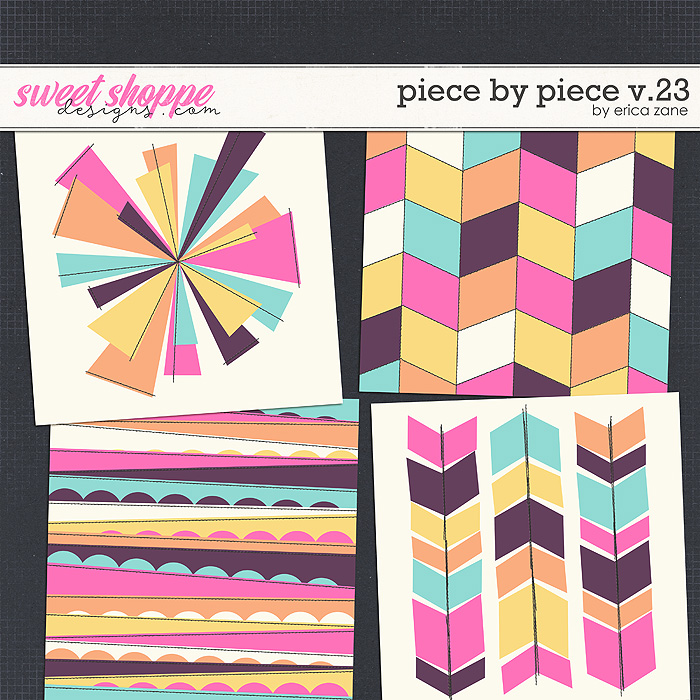 Piece by Piece v.23 Templates by Erica Zane