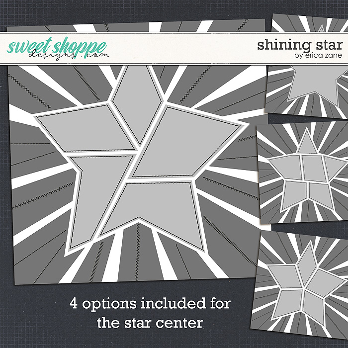 Shining Star Template by Erica Zane