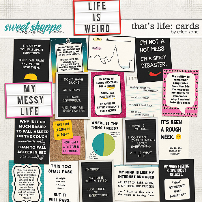 That's Life: Cards by Erica Zane