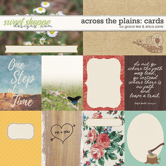 Across The Plains: Cards by Erica Zane and Grace Lee