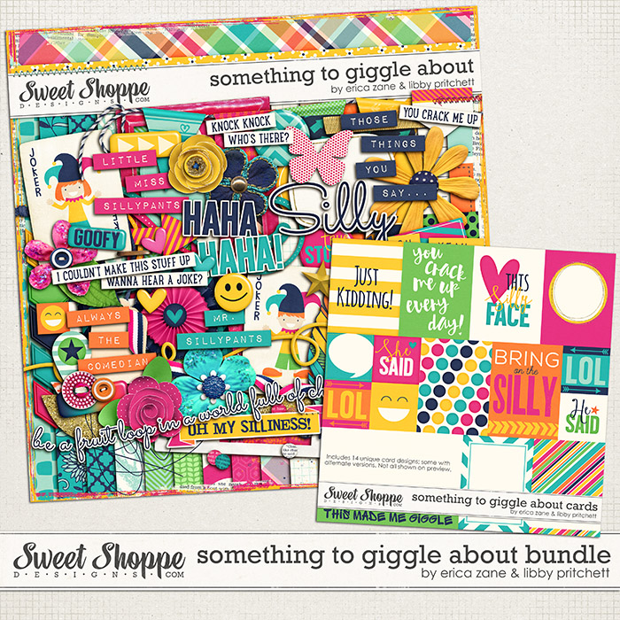 Something to Giggle About {Bundle} by Libby Pritchett & Erica Zane