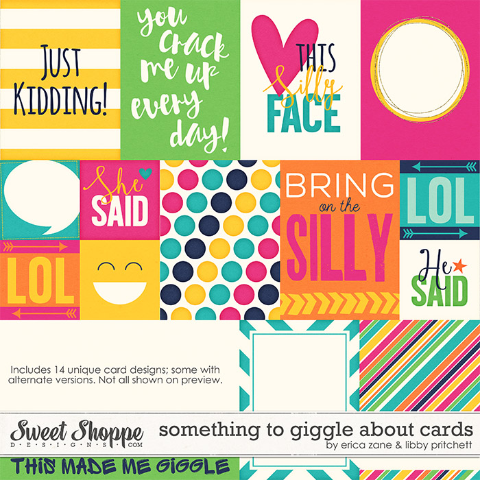 Something to Giggle About {Cards} by Libby Pritchett & Erica Zane
