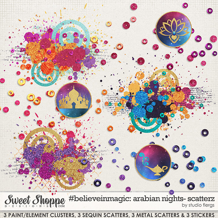 #believeinmagic arabian nights: SCATTERZ by Studio Flergs