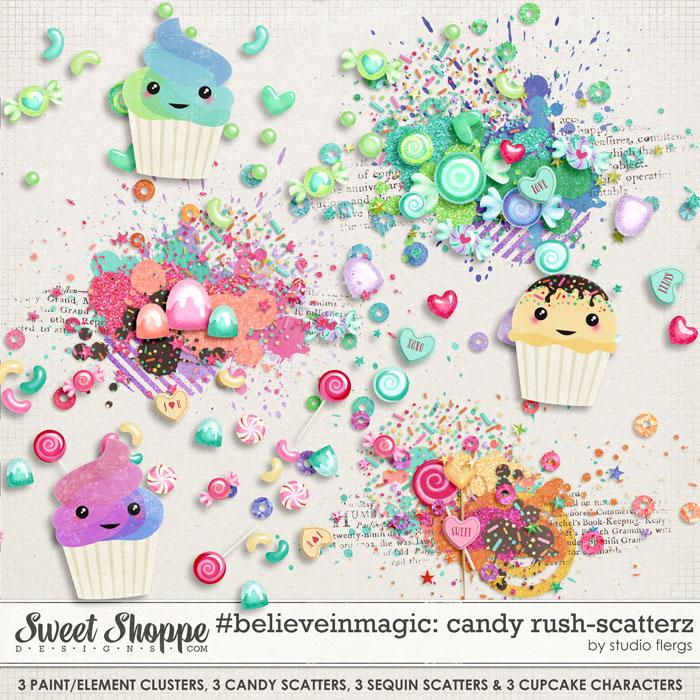 #believeinmagic: CANDY RUSH: SCATTERZ by Studio Flergs
