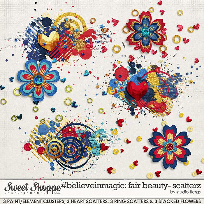 #believeinmagic fair beauty: SCATTERZ by Studio Flergs