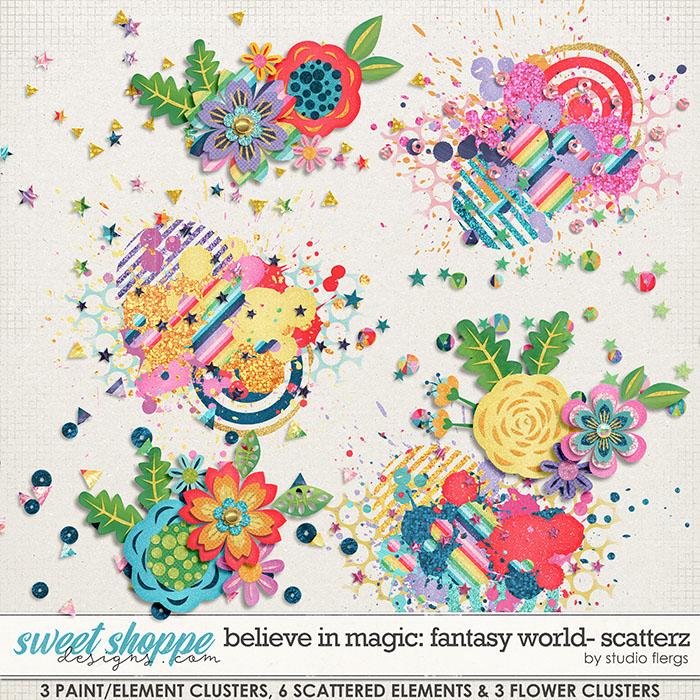 Believe in Magic: FANTASY WORLD- SCATTERZ by Studio Flergs
