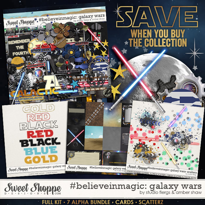 #believeinmagic: Galaxy Wars Collection by Amber Shaw & Studio Flergs