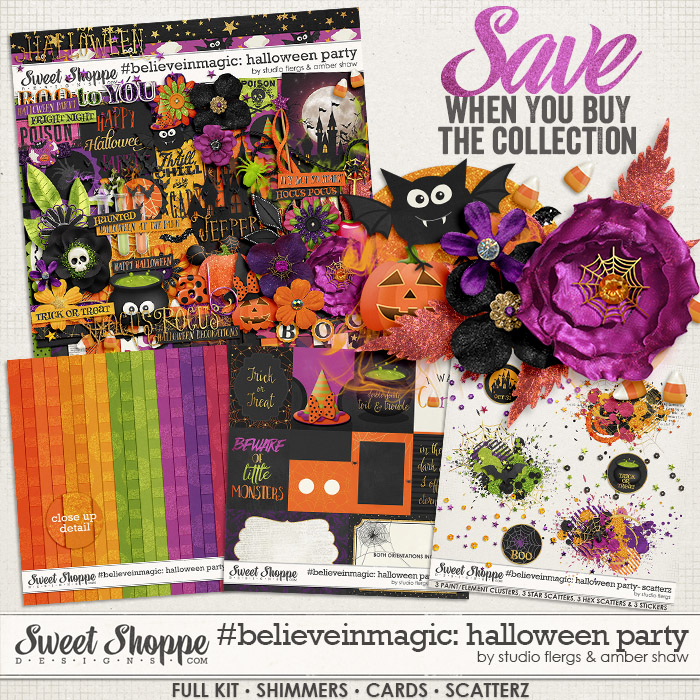 #believeinmagic: Halloween Party Collection by Amber Shaw & Studio Flergs