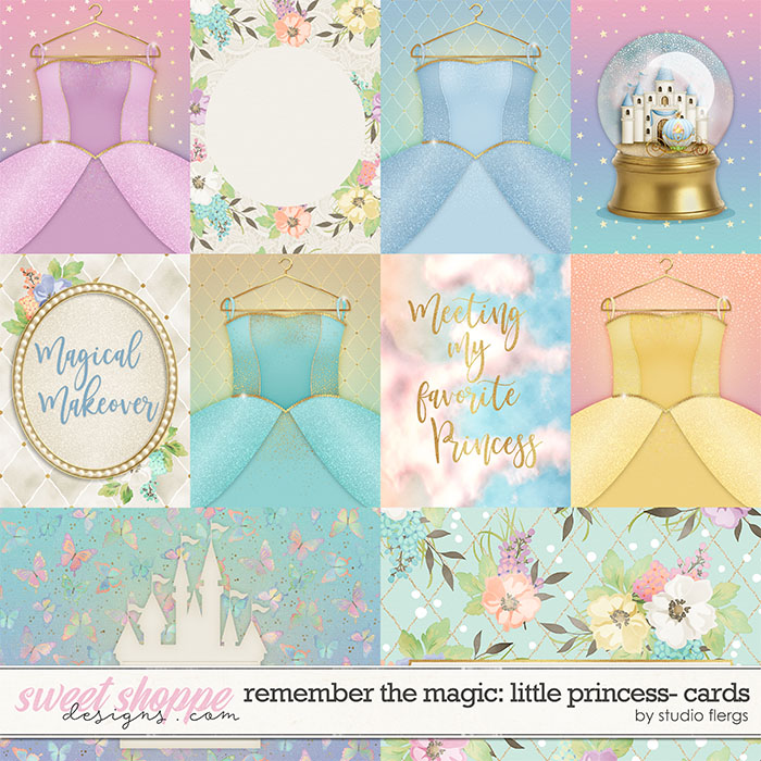 Remember the Magic: LITTLE PRINCESS- CARDS by Studio Flergs