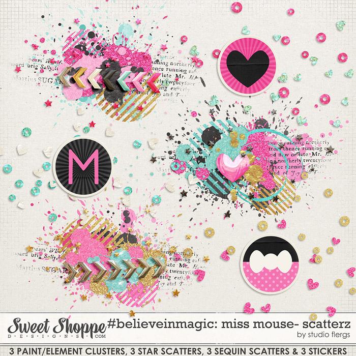 #believeinmagic: MISS MOUSE: SCATTERZ by Studio Flergs