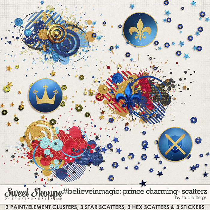 #believeinmagic prince charming: SCATTERZ by Studio Flergs