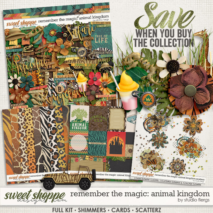 Remember the Magic: ANIMAL KINGDOM- COLLECTION & *FWP* by Studio Flergs
