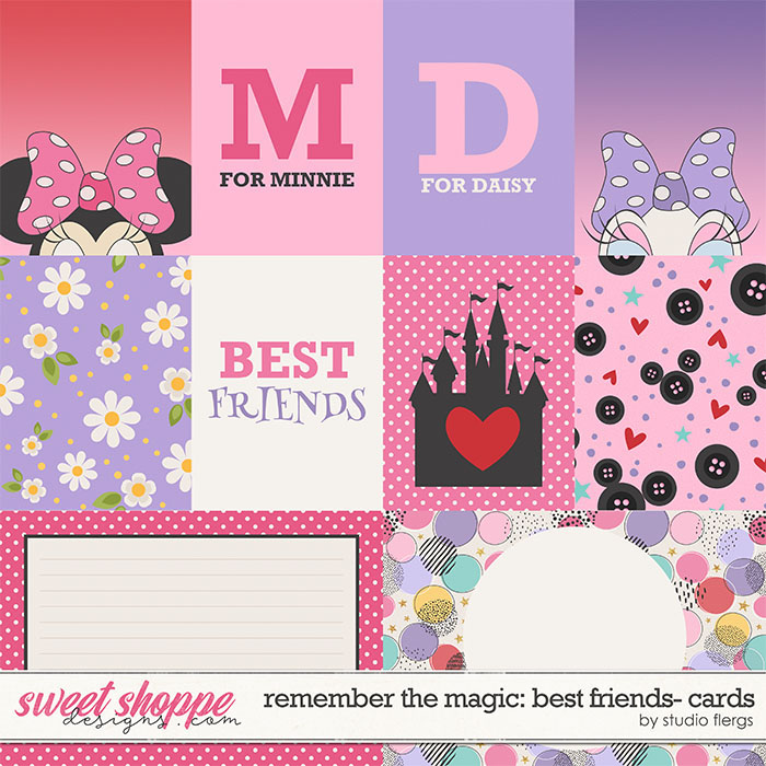 Remember the Magic: BEST FRIENDS- CARDS by Studio Flergs