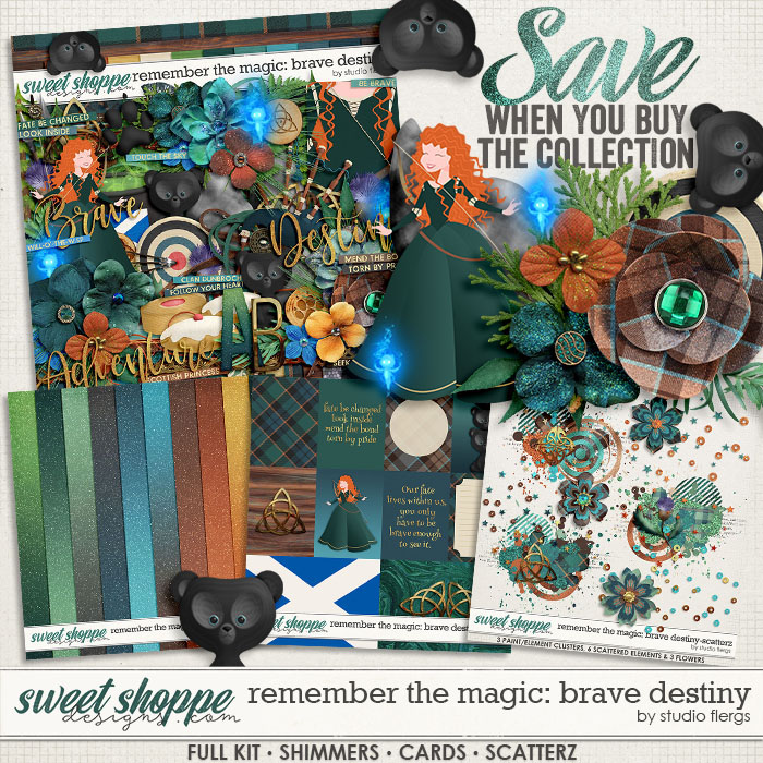 Remember the Magic: BRAVE DESTINY- COLLECTION & *FWP* by Studio Flergs