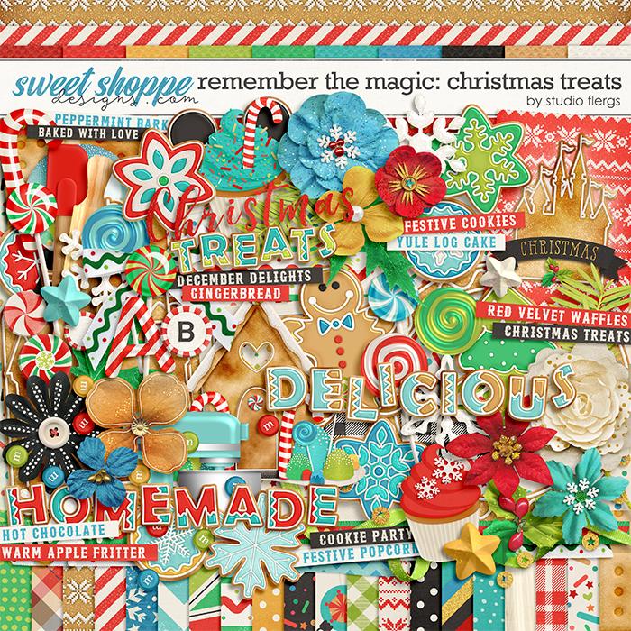 Remember the Magic: CHRISTMAS TREATS by Studio Flergs
