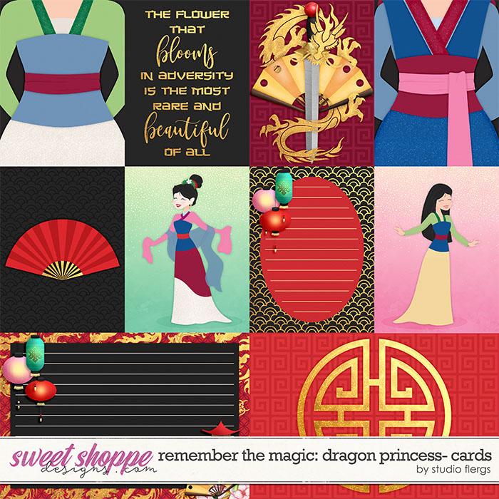 Remember the Magic: DRAGON PRINCESS- CARDS by Studio Flergs
