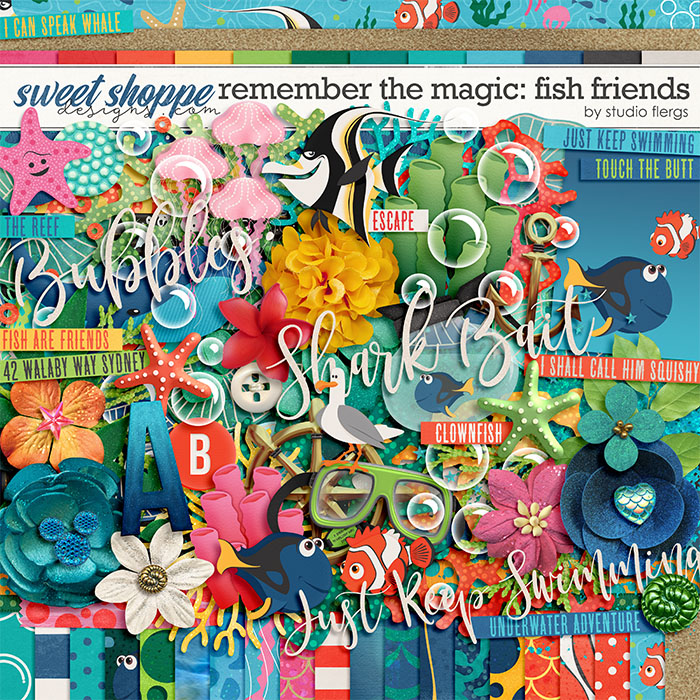 Remember the Magic: FISH FRIENDS by Studio Flergs