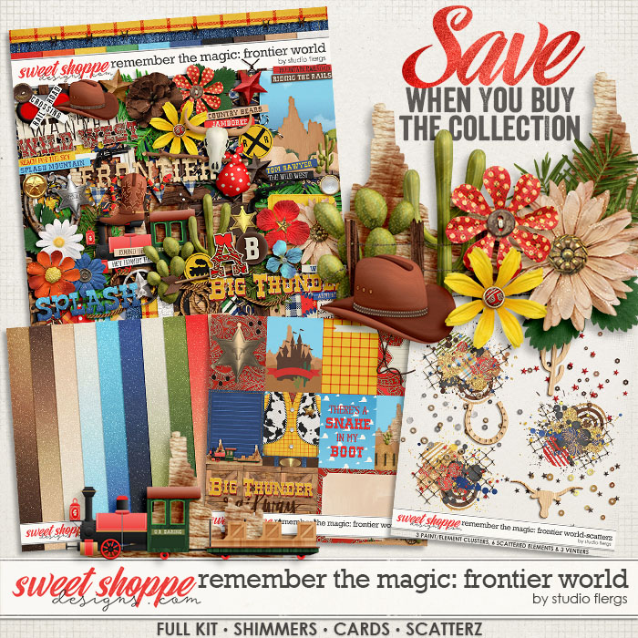 Remember the Magic: FRONTIER WORLD- COLLECTION & *FWP* by Studio Flergs