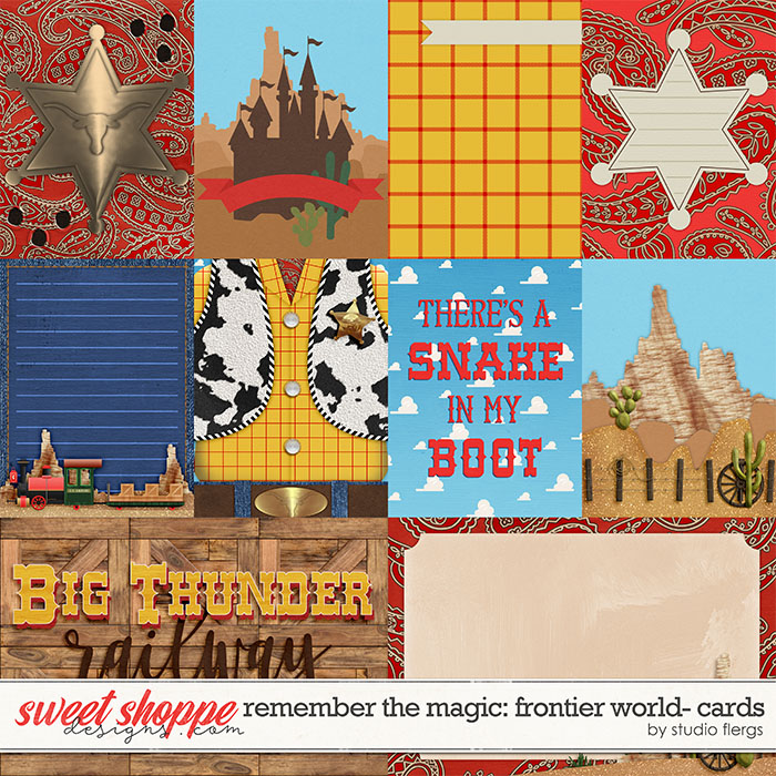 Remember the Magic: FRONTIER WORLD- CARDS by Studio Flergs