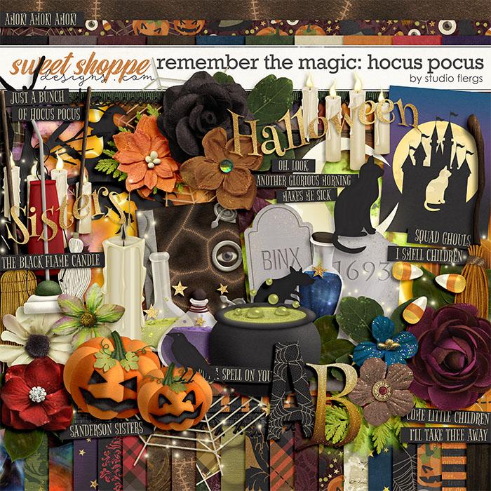 Remember the Magic: HOCUS POCUS by Studio Flergs