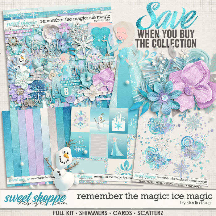 Remember the Magic: ICE MAGIC- COLLECTION & *FWP* by Studio Flergs