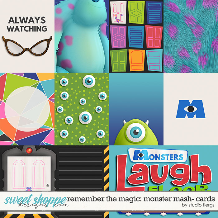 Remember the Magic: MONSTER MASH- CARDS by Studio Flergs
