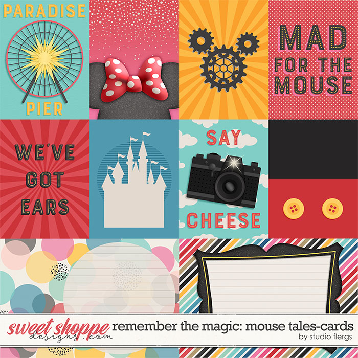 Remember the Magic: MOUSE TALES- CARDS by Studio Flergs
