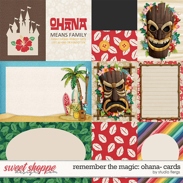 Remember the Magic: OHANA- CARDS by Studio Flergs