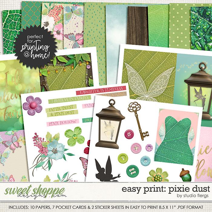 Easy Print: PIXIE DUST by Studio Flergs