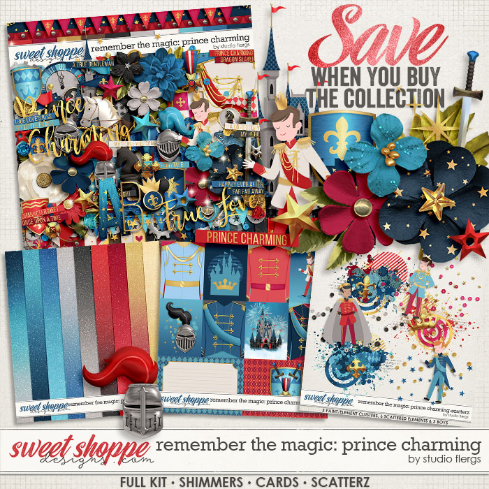 Remember the Magic: PRINCE CHARMING- COLLECTION & *FWP* by Studio Flergs