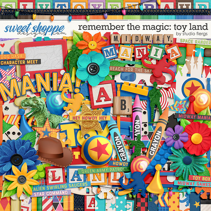 Remember the Magic: TOY LAND by Studio Flergs