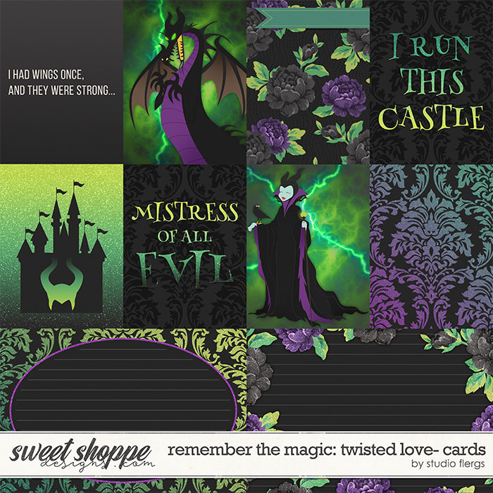 Remember the Magic: TWISTED LOVE- CARDS by Studio Flergs