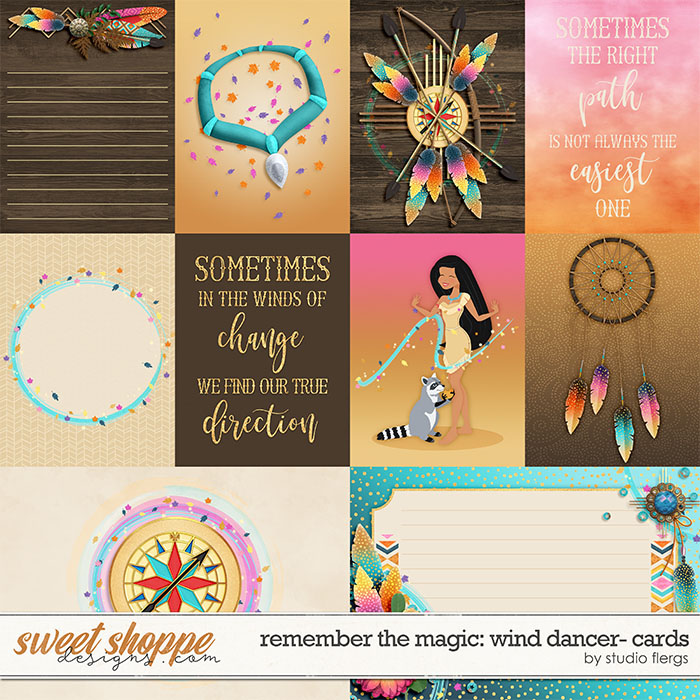Remember the Magic: WIND DANCER- CARDS by Studio Flergs