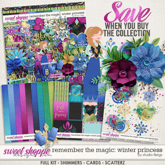 Remember the Magic: WINTER PRINCESS- COLLECTION & *FWP* by Studio Flergs