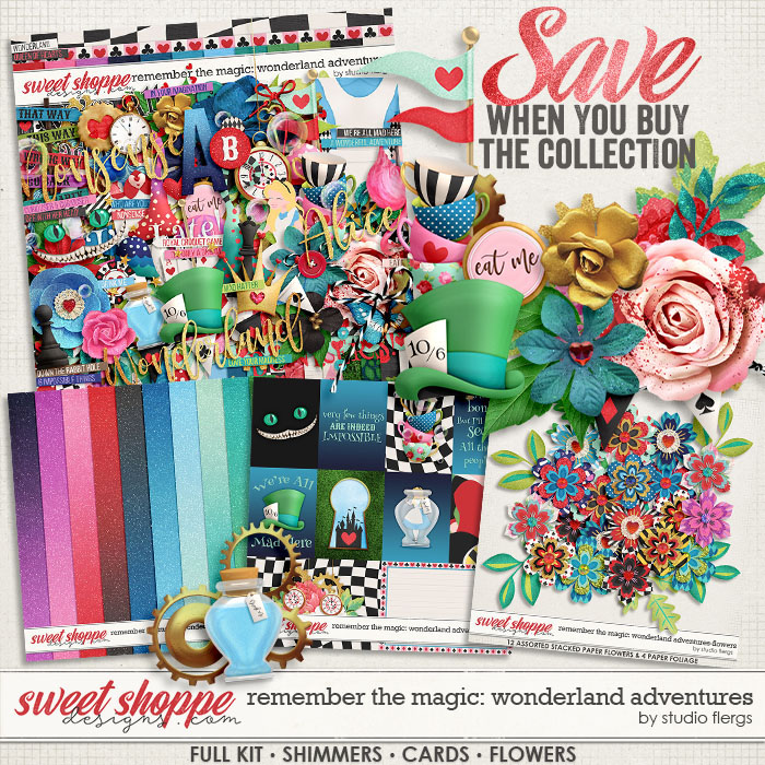 Remember the Magic: WONDERLAND ADVENTURES- COLLECTION & *FWP* by Studio Flergs