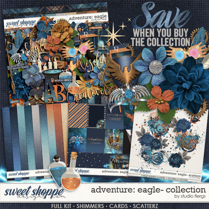 Adventure: Eagle- COLLECTION & *FWP* by Studio Flergs