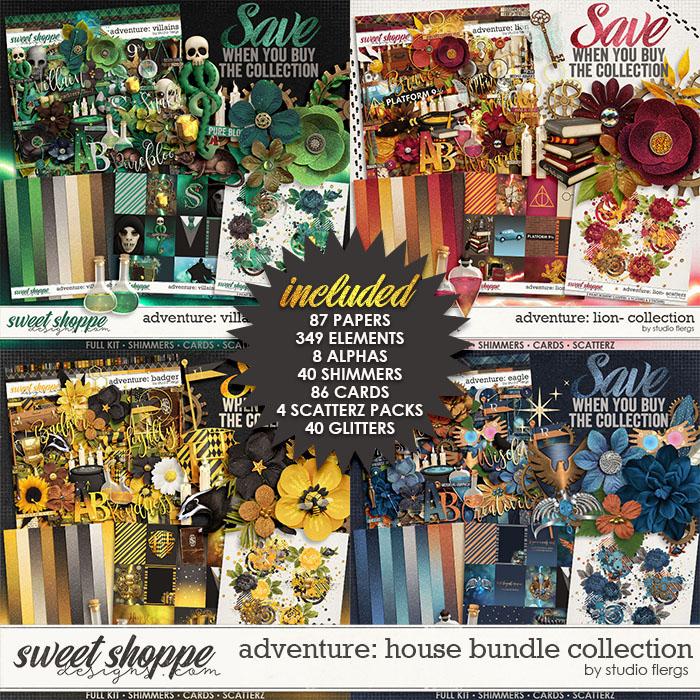 Adventure: House- BUNDLE COLLECTION by Studio Flergs