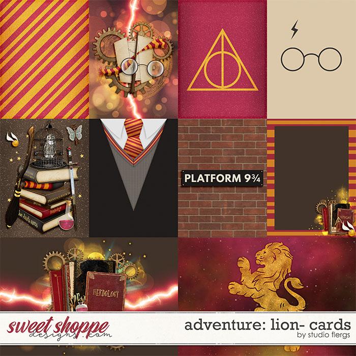 Adventure: Lion- CARDS by Studio Flergs