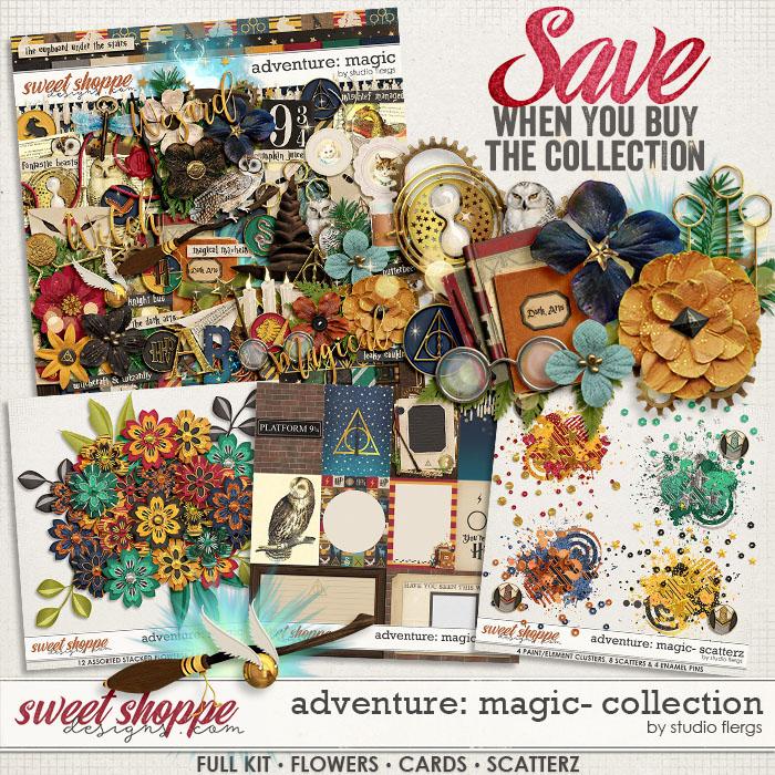 Adventure: Magic- COLLECTION & *FWP* by Studio Flergs
