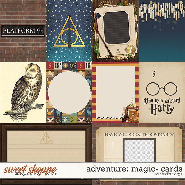 Adventure: Magic- CARDS by Studio Flergs