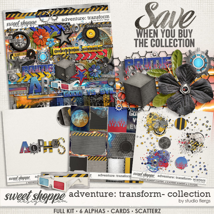 Adventure: Transform- COLLECTION & *FWP* by Studio Flergs