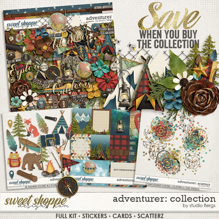 Adventurer: COLLECTION & *FWP* by Studio Flergs