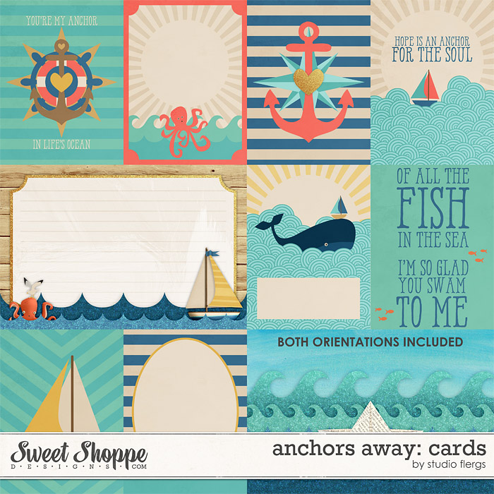 Anchors Away: CARDS by Studio Flergs