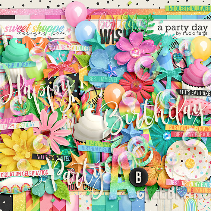 A Party Day by Studio Flergs