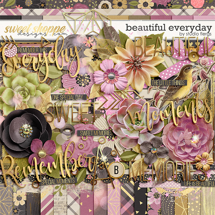 *FREE with your $10 Purchase* Beautiful Everyday by Studio Flergs