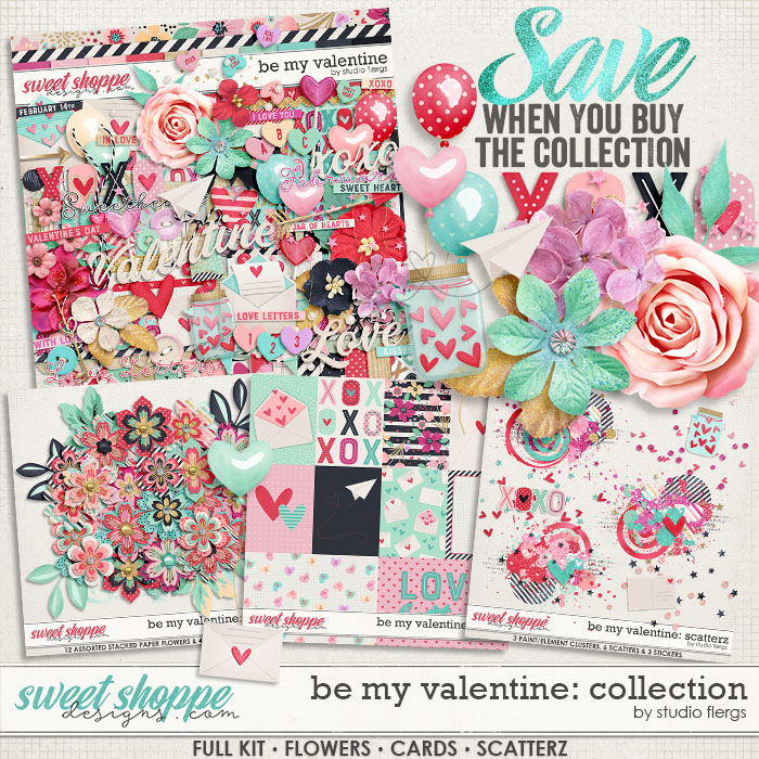 Be My Valentine: COLLECTION & *FWP* by Studio Flergs
