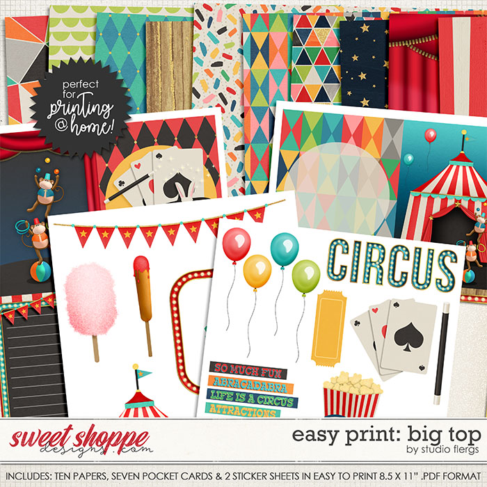 Big Top: EZ PRINT by Studio Flergs