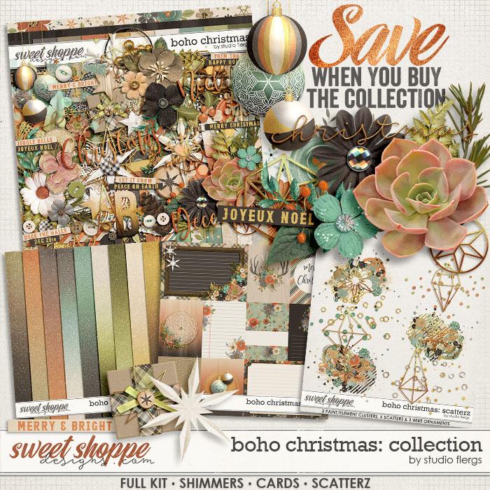 Boho Christmas: COLLECTION & *FWP* by Studio Flergs