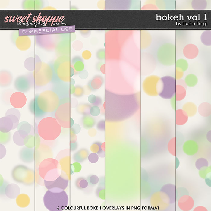 Bokeh VOL 1 by Studio Flergs