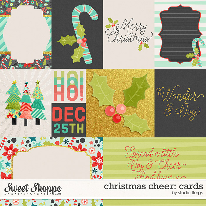 christmas cheer: CARDS by Studio Flergs